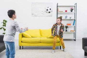 voetballen thuis
